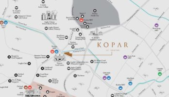 kopar-at-newton-location-map-singapore